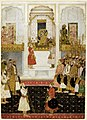 Shah Jahan in durbar (c.1650) - BL Add.Or.3853.jpg