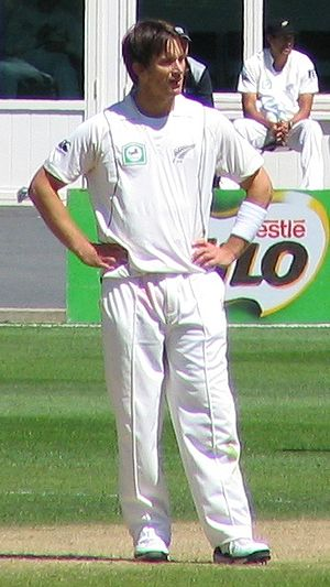 Shane Bond - Shane Bond at the University Oval in 2009