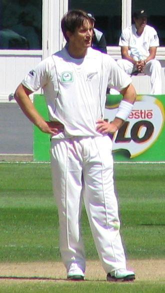 Shane Bond - Shane Bond at the University Oval in 2009