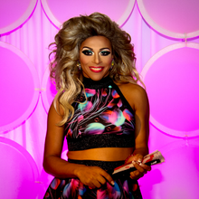 Shangela Laquifa Wadley at DragCon, April 2017.png