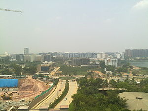 Whitefield, Bangalore - A view of EPIP Zone, Whitefield
