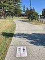 Shared pedestrian and bike way at Pratten Park, Broadbeach, Queensland.jpg