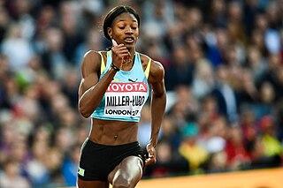 Shaunae Miller-Uibo Bahamian sprinter