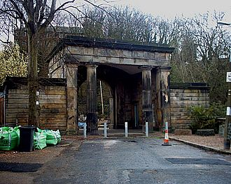 Sheffield General Cemetery - The Gatehouse to Sheffield General Cemetery