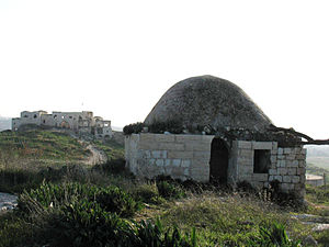 Majdal Yaba - The tomb of Sheikh Muhammad Al-Sadiq, 2007