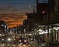 Shijo Street in evening at Gion.jpg
