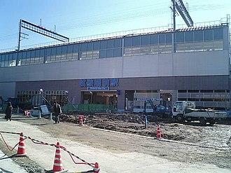 Shikenjōmae Station - Shikenjōmae Station building