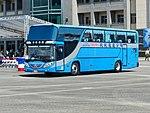 Shin Shin Transport Bus acrossing Hualien Air Force Base Apron 20170923a.jpg