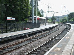 Shipley railway station - The view from platform 2