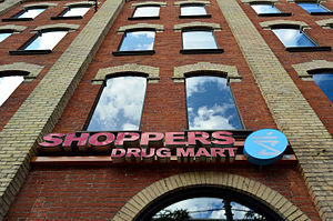 Shoppers Drug Mart - Shoppers Drug Mart in a historic building in downtown Toronto.