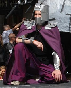 Costume de Shredder.