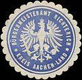 Siegelmarke Bürgermeisteramt Richterich Kreis Aachen-Land W0382848.jpg