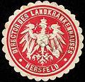 Siegelmarke Director des Landkrankenhauses - Hersfeld W0262849.jpg