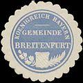 Siegelmarke Gemeinde Breitenfurt K. Bayern W0352402.jpg