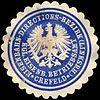 Siegelmarke Königliche Eisenbahn Betriebsamt Crefeld - Eisenbahn - Directions Bezirk (Linksrheinische) W0219704.jpg