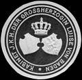Siegelmarke Kabinet Ihrer Königlichen Hoheit der Grossherzogin Luise von Baden W0233583.jpg