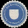 Siegelmarke Stadtkasse des Kreises Osthavelland zu Nauen W0380764.jpg