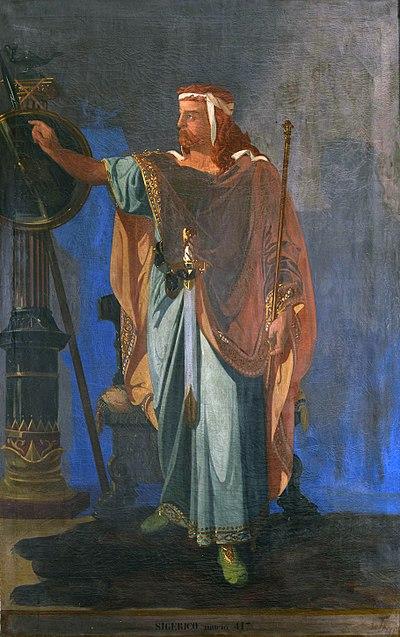 Retrato imaginario de Sigerico.
