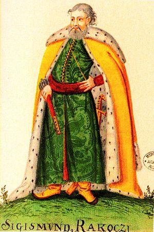 Sigismund Rákóczi - Image: Sigismund Racoczi