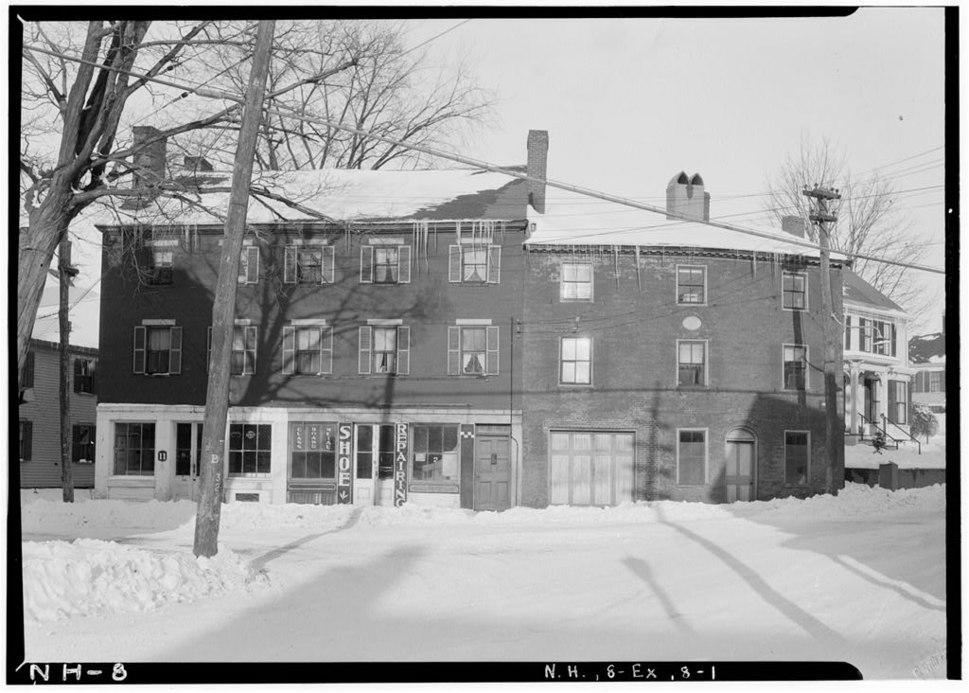 Simeon Folsom House Exeter New Hampshire