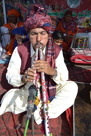Culture of Sindh - Image: Sindhi Musician