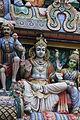 Singapore. Sri Mariamman. Gopuram. South East-30.JPG