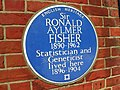 Sir Ronald Aylmer Fisher plaque.jpg