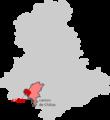 Situation Châlus carte de la Haute-Vienne.png