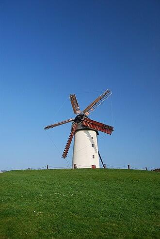 Skerries, Dublin - The larger of the two Skerries Mills windmills