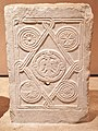 Slab relief with an eagle (10th - 11th cent) in the Byzantine and Christian Museum on February 8, 2020.jpg