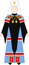 Slavic Orthodox Metropolitan - choir dress.svg