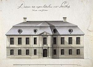 Carl Fredrik Adelcrantz - Image: Slott Sturehov ritning 1780