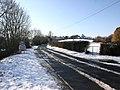 Snitterfield Lane as it enters Snitterfield - geograph.org.uk - 1715665.jpg