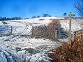 Snowy farmland at Upper Hergest - geograph.org.uk - 1716465.jpg