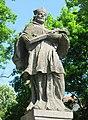 Socha svatého Jana Nepomuckého na náměstí ve Světci (Q38140919) 02.jpg