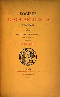Société daquarellistes français organization