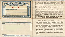 Social Security Number Wikipedia