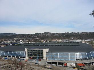 Sør Arena - During construction