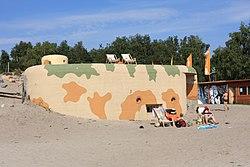 Sokól bunker Jastarnia Poland July2009