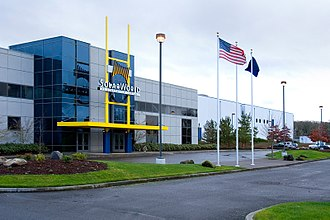 Silicon Forest - SolarWorld US headquarters in Hillsboro.