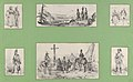 Soldiers and Landscapes, (6 prints mounted onto a green album sheet) MET DP841229.jpg