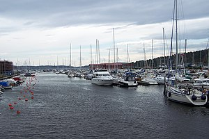 Son, Norway - Image: Son Harbour 01