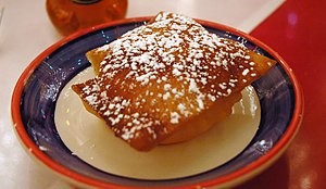 New Mexican cuisine - A Sopaipilla