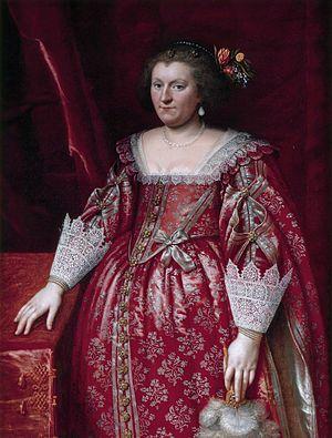 Sophia Hedwig van Brunswijk-Wolfenbuttel (1592-1642), by Wybrand de Geest (I)