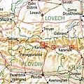 Sopot Karlovo Kalofer Kazanlak Bulgaria 1994 CIA map.jpg