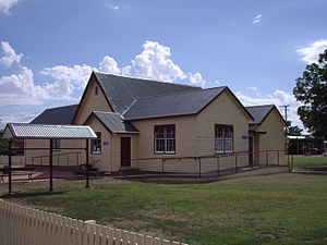 Sorell, Tasmania - St George's Parish Hall containing the Tourist Information Centre - Gordon Street, Sorell