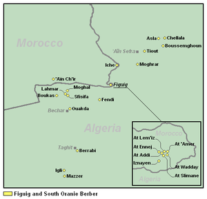 South Oran and Figuig Berber - Image: South Oranie and Figuig Berber