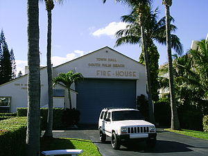 South Palm Beach, Florida - Town Hall and Police Department building (2007)