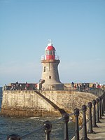 South Shields Lighthouse at the end of the Pier.jpg