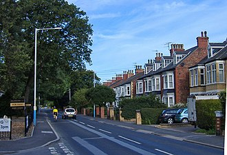 Cottingham, East Riding of Yorkshire - Early 20th century terraces, South Street (2007)